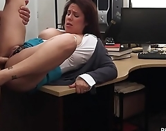 MILF Sucking Dick to Bail her man Out of Jail - XXX Pawn