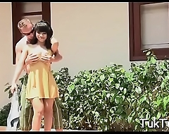 Thai playgirl gets scored and banged