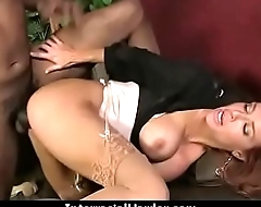 Beautiful girl fucked hard by big black dick 27