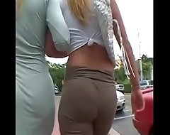 2 Big booty blonde milfs walking more at hotpornocams.com