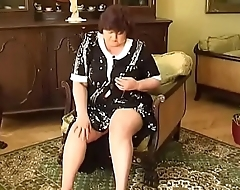 2 fat grannys with big breast dildos and fingers there pussy!Pre