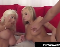 Blonde Amazon Puma Swede &amp_ Fuck Friend Amy Reid Get Fucked!