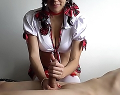 School Girl Makes Ruined Orgasm For Friend