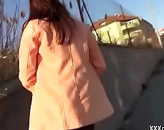 Public Pickup Girl Seduces Tourist For A Good Fuck And Dollars 30