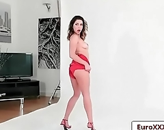 Picture Perfect Pussies with Esperanza Del Horno and Ally Breelsen clip-02 from Euro Sex Parties
