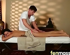 Gorgeous masseuse explores the body of a sexy lesbian beauty 21